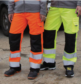 View Result Safe-Guard Cargo Trousers