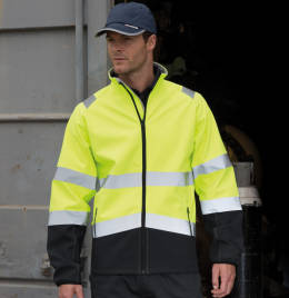View Safeguard Printable Safety Softshell