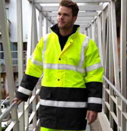 View Result Safeguard Hiviz  Moterway Coat