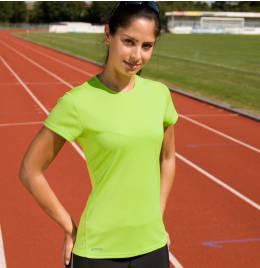 View Spiro Ladies Quick Dry S/Sleeve T-Shirt