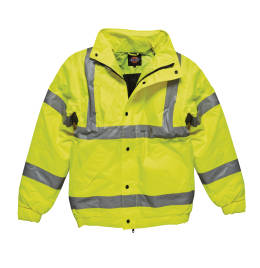 View Dickies High Visibility Bomber Jacket
