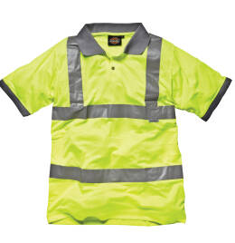 View Dickies Hi-Vis Safety Polo Shirt