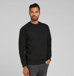 View SG Mens Raglan Sleeve Crew Neck Sweat