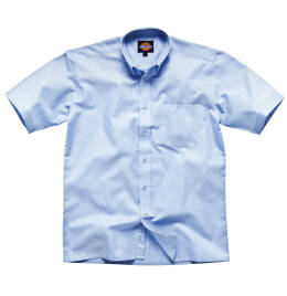 View Dickies S/Sleeve Cotton Oxford Shirt