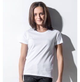 View Nakedshirt Womens Fitted Crew Neck Tee