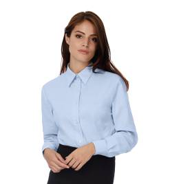 View B&C Ladies Oxford L/S Shirt