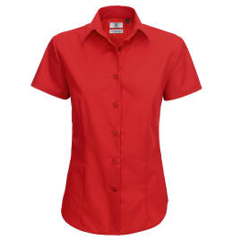 View B&C Ladies Smart S/S Shirt