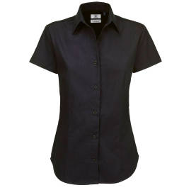 View B&C Ladies Sharp Twill S/S Shirt