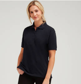 View UCC 50/50 Ladies 220gsm Pique Polo