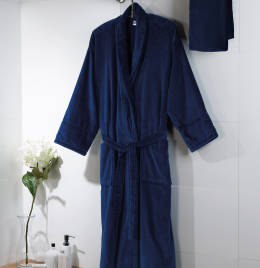 View Jassz Towels Como Velour Bath Robe
