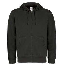 View B&C Hooded Mens Full Zip