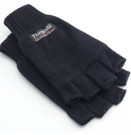 View Yoko 3m Thinsulate Half Finger Gloves