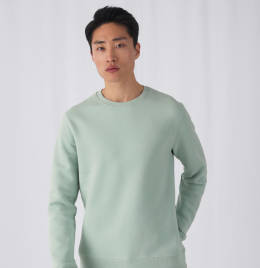 View B&C Mens King Crew Neck Sweat