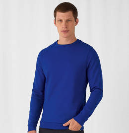 View B&C Mens #Set In Sweatshirt