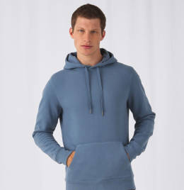 View B&C Mens King Hooded Sweat