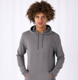 View B&C Mens #Hooded Sweat