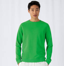 View B&C Mens OrganiC Crew Neck Sweat