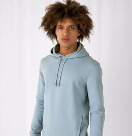 View B&C Mens Organic Hooded Sweat