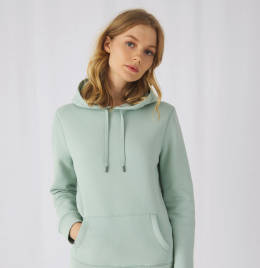View B&C Womens Queen Hooded Sweat