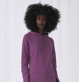 View B&C Womens #Hooded Sweat