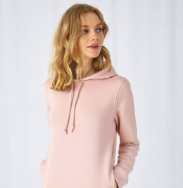 View B&C Womens Organic Hooded Sweat