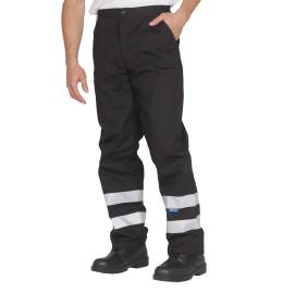 View Yoko Reflective Working Trousers (Reg)