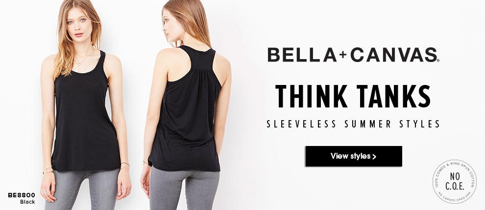 Bella + Canvas Think Tanks