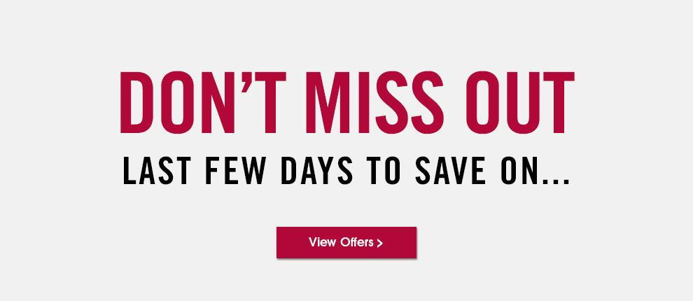 Last chance to save on