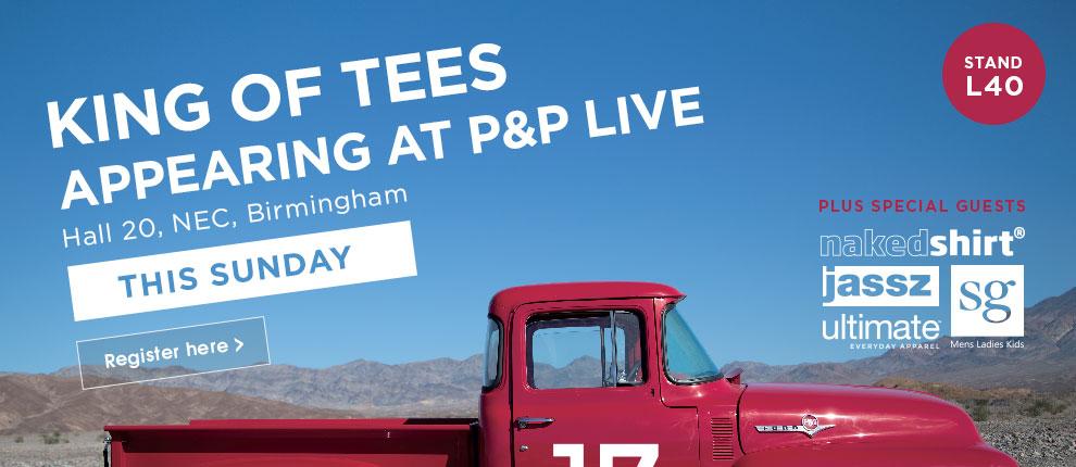 Visit us at P&P