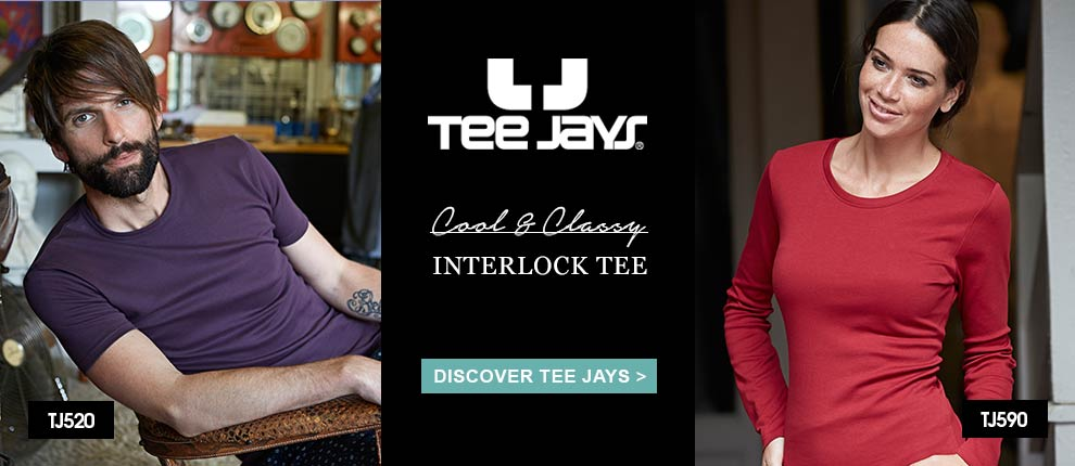 Click here to view Tee Jays T-Shirts
