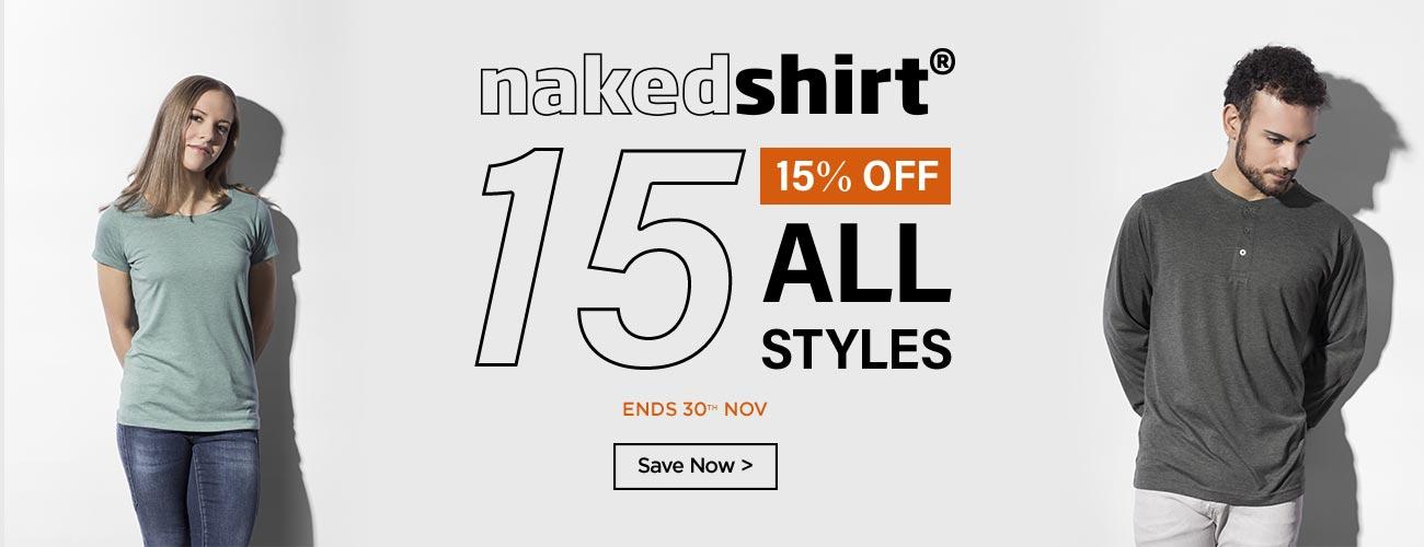 nakedshirt Offer