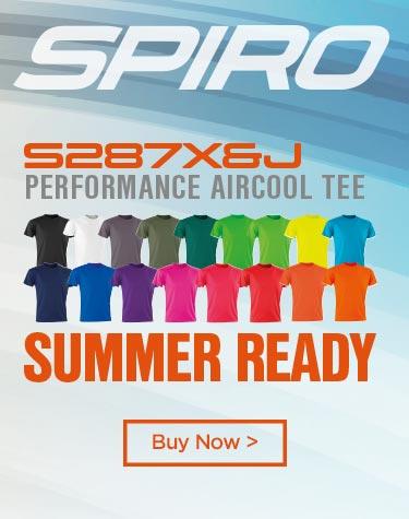SPIRO Performance aircool tee