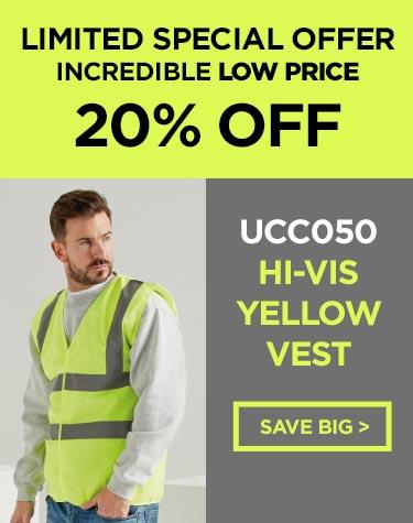 Hi Vis Yellow Vest
