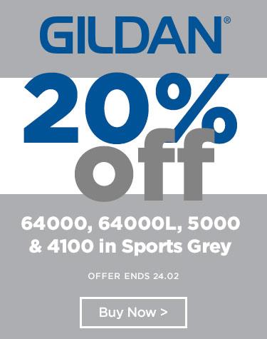 Gildan Sports Grey