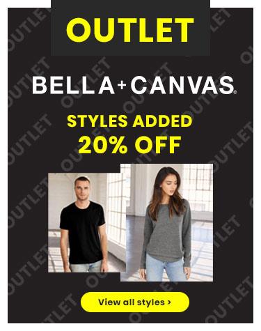 Bella + Canvas Outlet
