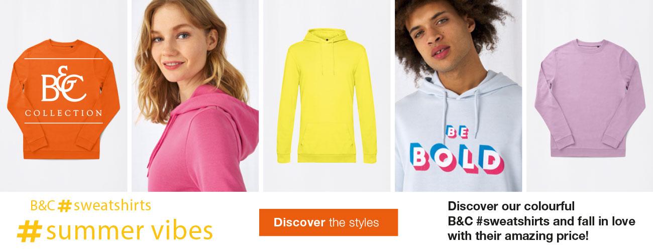 B&C Sweatshirts